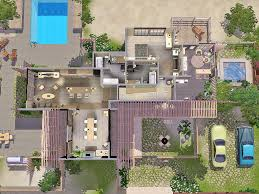 mod the sims bamboo house