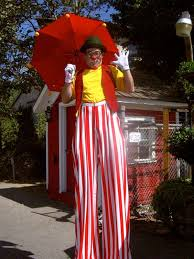 clown stilts clown on stilts rick herns productions