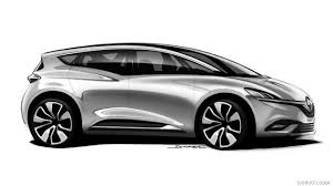 renault scenic 2017 renault scenic design sketch hd wallpaper 49