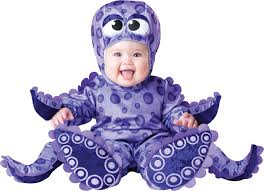 party city category halloween costumes baby toddler infant infant baby purple octopus infant onesie halloween fancy dress costume
