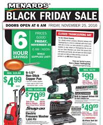 when does the home depot black friday ad come out menards black friday 2017 ads deals and sales