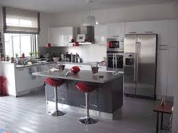 Cuisine Contemporaine Grise idee cuisine moderne sur idees de decoration interieure et
