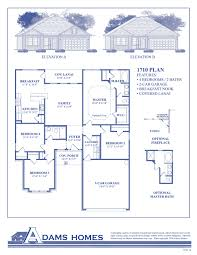 Floor Plans For 2 Story Homes by The Colonade Adams Homes