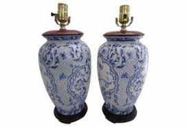 Table Lamp Bases Brisbane Blue And White Porcelain Table Lamps Foter