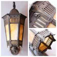 Best Shop Lights by A7248 Bronze Porch Wall Lantern Bogart Bremmer U0026 Bradley Antiques