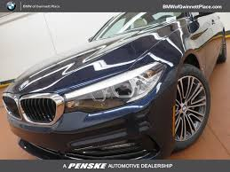 car bmw 2017 used bmw 5 series at bmw of gwinnett place serving atlanta duluth