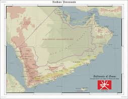 Map Of Oman Sultunate Of Oman Telephone Map Game By Zalezsky On Deviantart