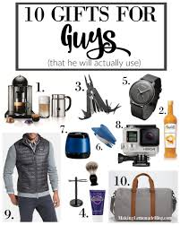 gifts staggering mens gift ideas