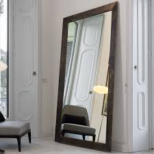 Bevelled Floor Mirror by Framing A Large Floor Mirror Excellent Design With Large Floor