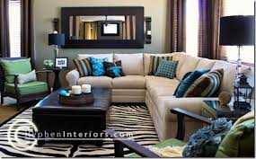 brown and blue home decor innovative living room decor blue and brown green living rooms blue