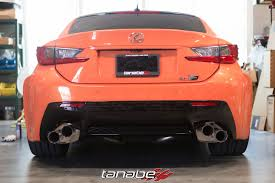 rcf lexus orange lexus rc f exhaust more japan blog