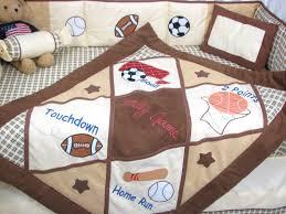 Baseball Nursery Bedding Sets by Amazon Com Soho Let U0027s Play Game Baby Crib Nursery Bedding Set 13