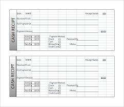 Receipt Template Excel Receipt Template 122 Free Printable Word Excel Pdf Format