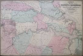 Detailed Map Of Virginia by Antique Maps Of Virginia And The Chesapeake Bay