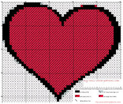 cross stitch pattern design software a simple hearth cross stitch pattern free made with software app
