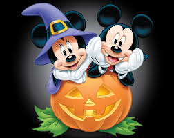 animated halloween desktop background mickey and minnie halloween desktop wallpaper wallpaper source