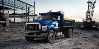 Ford Diesel Dump Truck - ford f 650 f 750 super duty 2018 updates ford authority