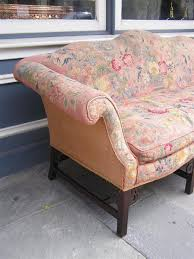 Chippendale Sofa Slipcover by English Chinese Chippendale Mahogany Needlepoint Sofa Circa 1750