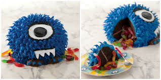 Halloween Monster Cake by
