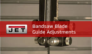 bandsaw blade guide bandsaw blade guide adjustments tiptuesday youtube