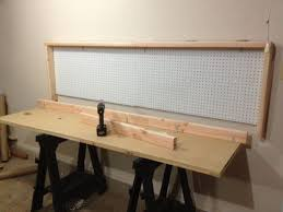 wall mounted folding workbench 6 steps with pictures