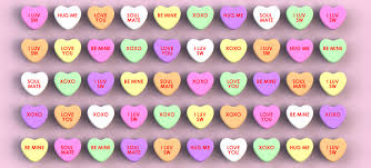 valentines heart candy sayings heart messages 7a982dad865e9d37b4a43d13cbdd12a0 candy
