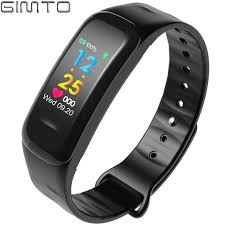 bracelet iphone images Fashion health women men smart bracelet watch black color ios jpg