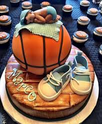 basketball baby shower boy basketball baby shower cake pinteres