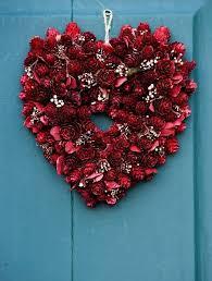 valentines day wreaths 6 pretty diy s day wreaths