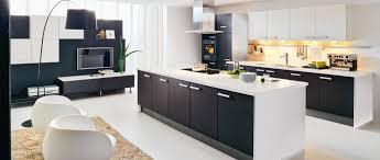 cuisine noir et blanc cuisine americaine noir et blanc photos de design d intérieur et