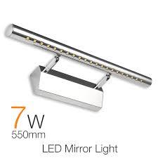Waterproof Bathroom Light Waterproof Modern Led Bathroom Lighting 55cm 7w Vanity Led Mirror