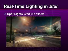 a way to do real time lighting