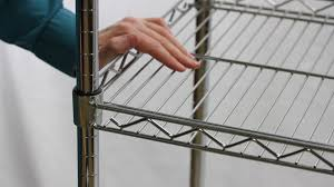 Stackable Wire Shelves by How To Disassemble Wire Shelving The Shelving Blog