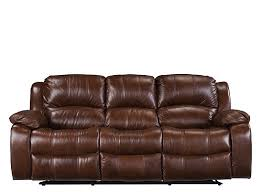 Reclining Sofa Leather Bryant Ii Leather Power Reclining Sofa Cognac Raymour Flanigan
