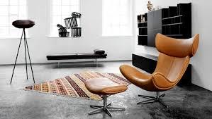 ledersessel design dänisches design 33 stilvolle inspirationen für ihr zuhause