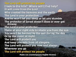 white light protection prayer evening prayer