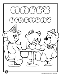 easy coloring pages printables coloring pages happy birthday