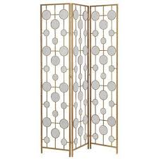 Gold Room Divider by Good As Gold Add Shimmer To Fall Decor With Gilded Pieces Home
