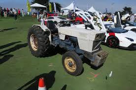 first lamborghini tractor top 20 cars of the concorso italiano at the 2014 pebble beach concours