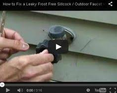 Repair Outside Faucet How To Repair A Leaky Outdoor Faucet Dyn American Pinterest