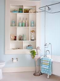 Small Bathroom Wall Shelves Pretty Functional Bathroom Storage Ideas The Inspired Room