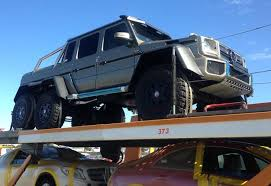 mercedes amg 6x6 cost merc s 6x6 bakkie spotted in sa wheels24