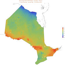 map of canada by province canadian solar maps by province ecosmart solar
