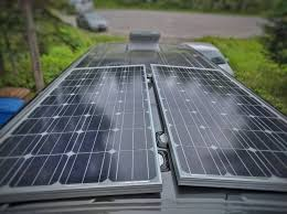 Ultimate Solar Panel by Halfway Through Our Diy Self Build Campervan Conversion Our Own