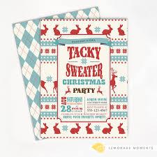 sweater invitations glitter n spice