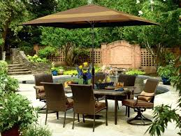 Outdoor Patio Dining Sets With Umbrella Walmart Patio Furniture With Umbrella Patio Furniture With