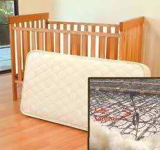 Wool Crib Mattress Pad Organic Wool Cotton Crib 242 Coil Mattress 28x52