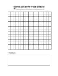 make own word search create your own word search by catherine scheller tpt