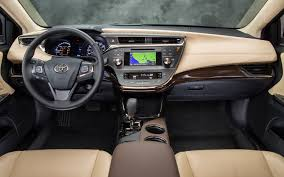 2014 toyota avalon mpg 2013 toyota avalon limited test motor trend