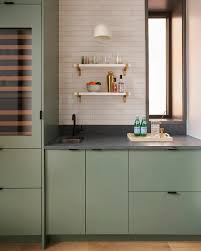 ikea grey green kitchen cabinets contemporary chicago kitchen for the modern family ikea